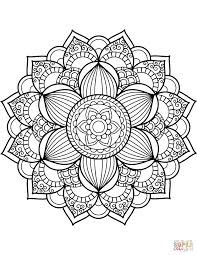 Coloring Pages Ideas Flower Mandala Coloring Pages Photo Ideas Page