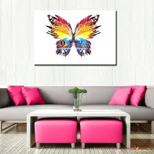 modern paintings abstract butterfly large wall pictures for living room canvas wall art wall decor painting cheap home decor print art canvas picture modern  on large canvas wall art amazon with modern paintings abstract butterfly large wall pictures for living