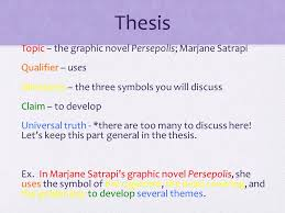 persepolis analytical analysis essay ppt video online  6 thesis