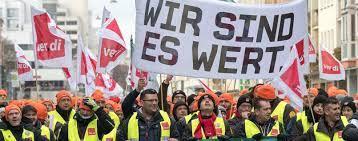 Jeder streik bedarf einer legitimierenden urabstimmung in der gewerkschaft.: Streik Beendet Verdi Erreicht Deutliche Lohnsteigerung Fur Geldtransport Dienste Wirtschaft Tagesspiegel