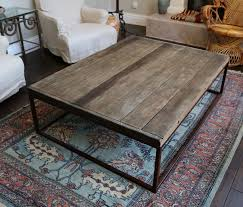 restoration hardware rustic coffee table with wheels coma frique