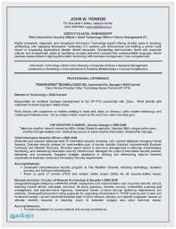 Nanny Resume Example Information Security Sample Resume