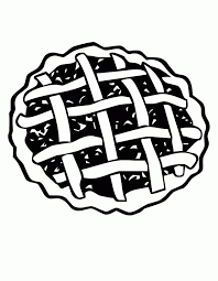 Small Picture Pie Coloring Pages Coloring Home