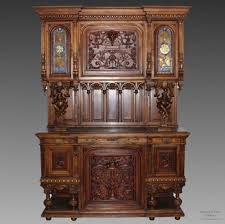 request information about antique cupboard sideboard cabinet in walnut 19th century