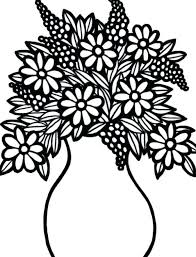 Free Coloring Pages Of Flowers Printable Coloring Pages Of