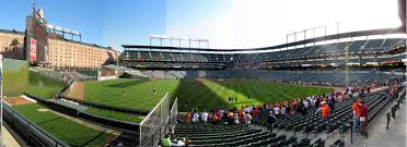 oriole park at camden yards section 86 panorama