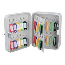 office key holder. Key Cabinet Gray Metal Box Storage Multi Holder For Home Office Security (40 Keys
