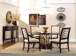 round glass dining table set dining room intrigue transitional round dining table set with 4 seat and two decorative flower glass dining table setting ideas