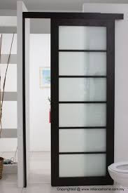if you try small door bathroom you could use bathroom sliding door also can folding sliding door will saves space so that it can add other furniture