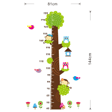 Kindergarten Height Chart Children Room Kindergarten Height Measure Chart Owl Money