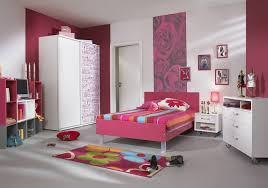 Bedroom:Nice Teen Girls Bedroom Furniture Ideas With Pink And White Wall  Paint Color Teenage