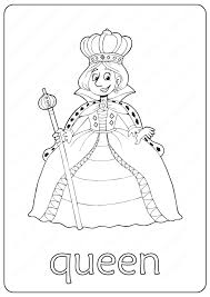 More than 5.000 printable coloring sheets. Printable Queen Coloring Page Book Pdf Lego Coloring Pages Coloring Pages Peppa Pig Coloring Pages