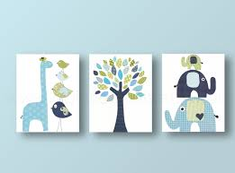 >boys nursery art prints baby nursery decor nursery art bird  zoom