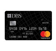 Dbs Black World Mastercard Mileage Credit Card Dbs Hong Kong