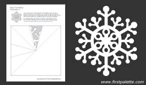 Snowflake Cut Out Pattern
