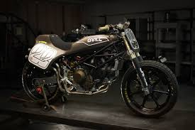 earle motors builds a ducati tracker and there will be kits