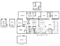 ... 5 Bedroom Modular Homes Floor Plans The La Belle Vr D Manufactured Home Floor  Plan Or ...