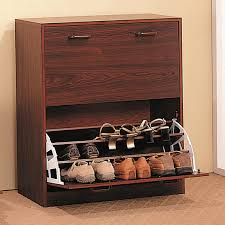 Shoe Storage Solutions Rack Wooden Shoe Rack For Entry Room Storage Ideas Bananawhocom