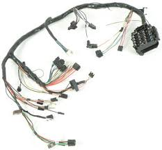 1979 firebird parts electrical and wiring wiring and 1979 firebird underdash harness automatic transmission and rally gauges