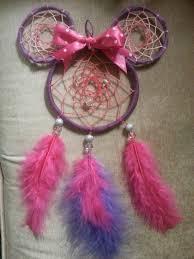 Minnie Mouse Dream Catcher Beauteous Purple And Pink Minnie Mouse Dream Catcher I Made You Can Get
