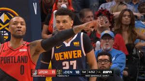 Denver Nuggets vs Portland Trail Blazers - Game 7 - May 12, Full 1st Qtr