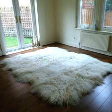 large sheepskin rug rugs ireland shee