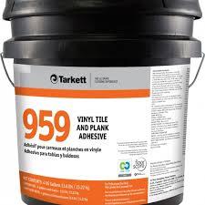 tarkett adhesives cleaners 959 vinyl tile and plank adhesive