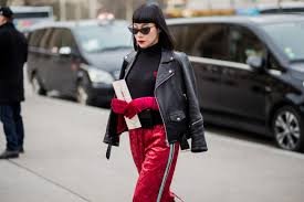 5 ways to wear your favorite leather jacket because it s that time of year again