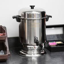 stainless steel coffee urn regalware k1355 55 cup 2 2 gallon west bend k1355a 55 cup 2 2 gallon stainless steel