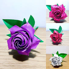 Paper Origami Flower Making Cheap Origami Flower Making Find Origami Flower Making Deals On