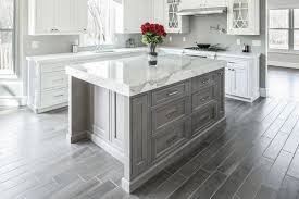 quartz or marble countertops elegant for 19