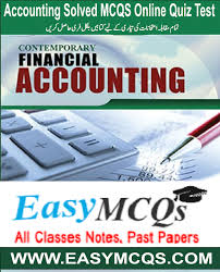 learn accounting solved mcqs