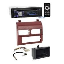 boss stereo radio burgundy dash kit antenna harness for 88 94 main image
