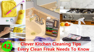 Clever Kitchen 42 Clever Kitchen Cleaning Tips Every Clean Freak Needs To Know