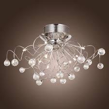 image of small crystal chandelier lighting fixtures