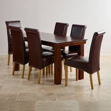 Furniture Dinner Table Chairs Dinner Table Set For  Dining Room - Dining room chair sets 6