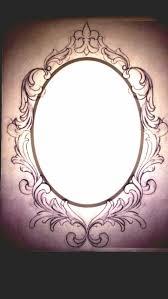 oval frame tattoo design. Oval Frame Tattoo Design