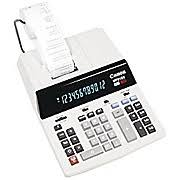 four function calculator canon printing calculator mp21dx