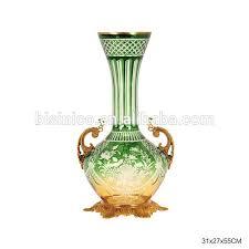 luxury glass enamel large vase antique colored textured decorative with gilt bronze coloured vases whole uk textu
