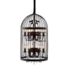 zuo modern 19 9 in 12 light rust cage chandelier