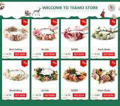 HIYONG <b>Women</b> White <b>Rose</b> Flower Crown Hair Wedding Floral ...