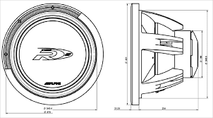 38cm) subwoofer (4ohm 4ohm) alpine Alpine Type R 10 2 Ohm Wiring Diagram