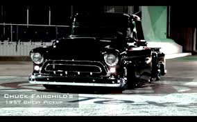 1957 Chevy Pickup Running 12's At The Track - YouTube