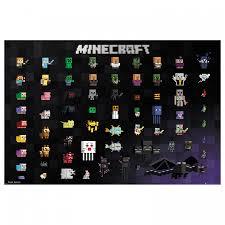 Afbeelding Minecraft Ii Papier Op Mdf Home24nl
