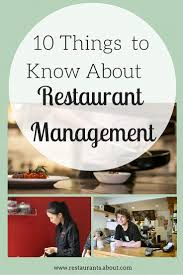 top ideas about restaurant manager restaurant 10 responsibilities of a restaurant manager