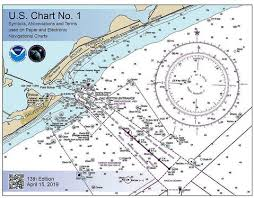 U S Chart No 1 Symbols Abbreviations And Terms 2019 13th Edition