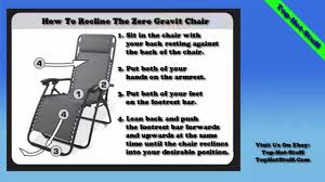 caravan sports infinity oversized zero gravity chair instructions review top hot stuff you