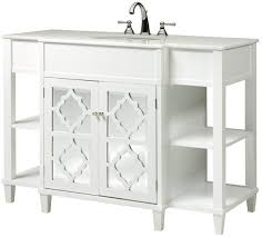 white bathroom vanity mirrors. Delighful White Adelina 48 Inch Contemporary Bathroom Vanity Mirror Insert Carving Doors  On White Bathroom Vanity Mirrors