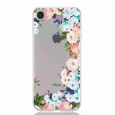 <b>TPU Hollow Flower Painting</b> Phone Case for iPhone XR Sale, Price ...