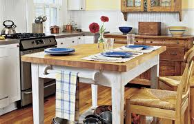 Butcher Block Kitchen Tables How To Build A Butcher Block Counter Island This Old House
